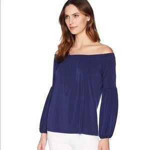 MICHAEL KORS NWOT off shoulder blouse